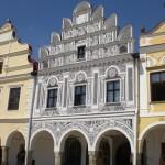 Marktplatz in Telc UNESCO-Weltkulturerbe Copyright Conti-Reisen