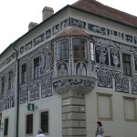 Trebitsch, Renaissancefassade am Marktplatz Copyright Conti-Reisen