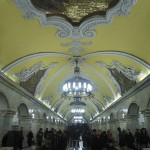 Moskau Metrostation Copyright Günther Krumpen