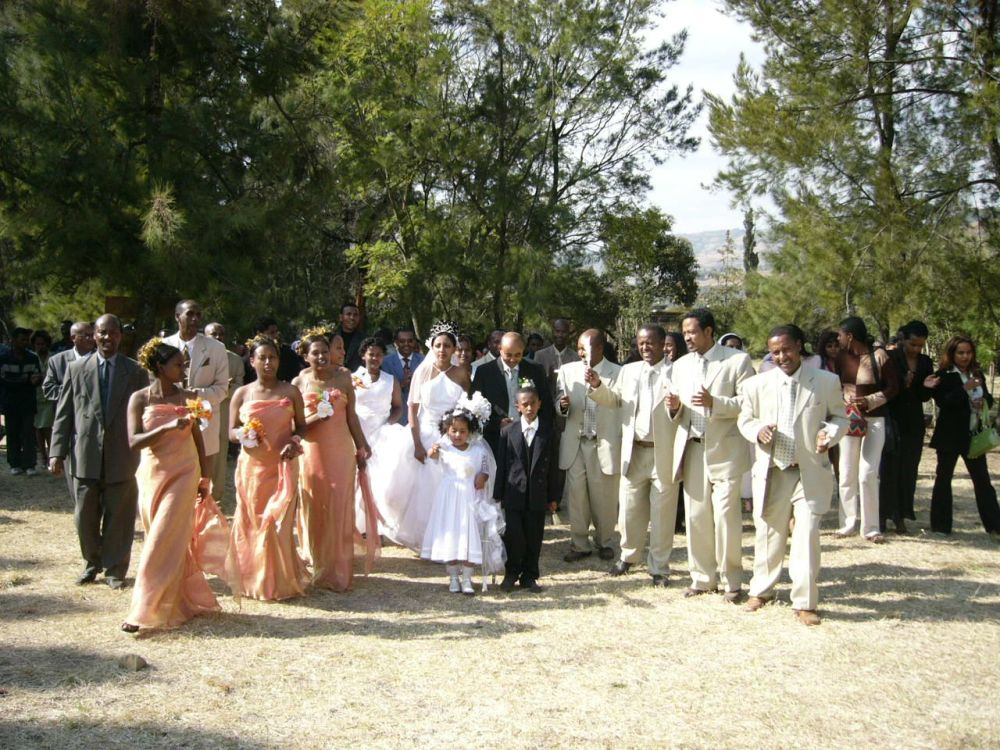 Hochzeit-Äthiopien
