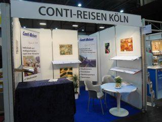 Alt:Gloria Messe - Conti-Reisen Stand