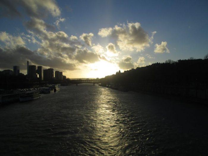 Sonnenuntergang an der Seine Copyright by Conti-Reisen