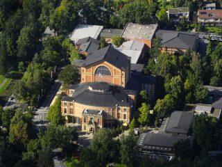 Bayreuth Festspielhaus (c) Stadt Bayreuth