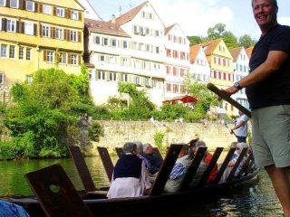 Tübingen Stocherkahnfahrt © Edith Mintgens