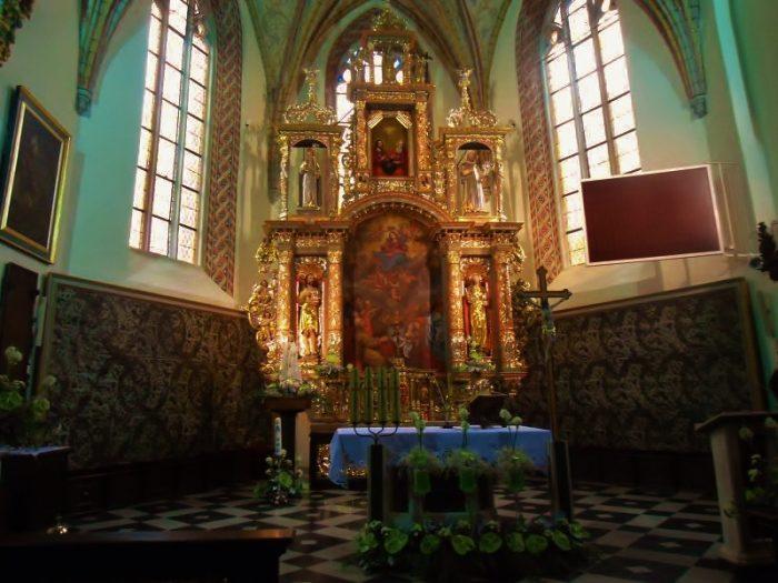 Kartuzy Chor der Katäuserkirche (C) Conti-Reisen