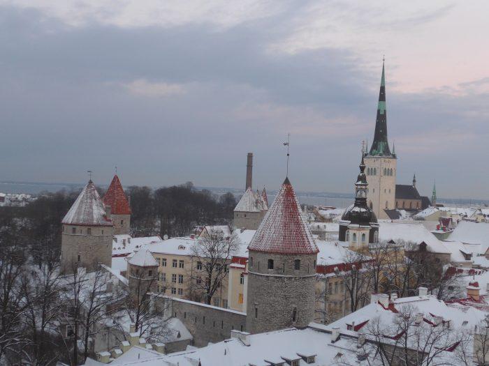 Tallinn Panorama Unterstadt (C) Conti-Reisen